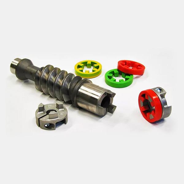 Elastic coupling motor fitting